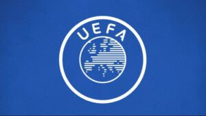 """شعار الاتحاد الأوروبي لكرة القدم """"يويفا""""، (صور: UEFA.com)"""