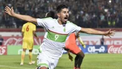 الهداف التاريخي للدوري القطري بغداد بونجاح لاعب السد ومنتخب الجزائر (صور: Ruerters)