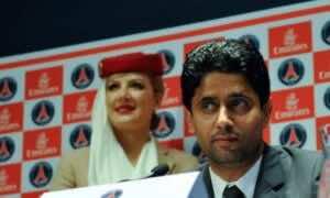 رئيس نادي باريس سان جيرمان ناصر الخليفي (صور: Google.com)