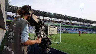 صورة التلفزيون المصري: قررنا إيقاف مخرجة مباراة الزمالك وحسنية أكادير