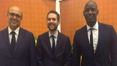 عمرو فهمي السكرتير العام للاتحاد الأفريقي لكرة القدم كاف (صور: Caf)