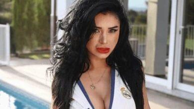 عارضة الأزياء الباراجويانية ميرثا سوسا، صديقة أليكسيس سانشيز (صور: Crónica de Asunción de Paraguay)