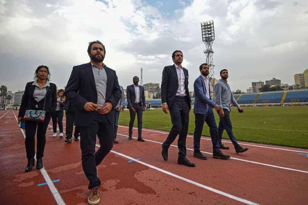 مدير كأس أمم أفريقيا 2019 محمد فضل يتفقد ملاعب البطولة (صور: Getty)