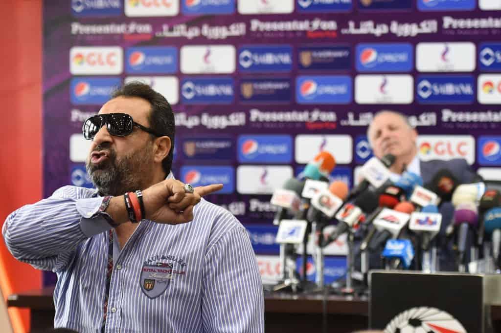 مجدي عبد الغني يدافع عن هاني أبو ريدة في مقر الاتحاد المصري لكرة القدم (صور: Getty)