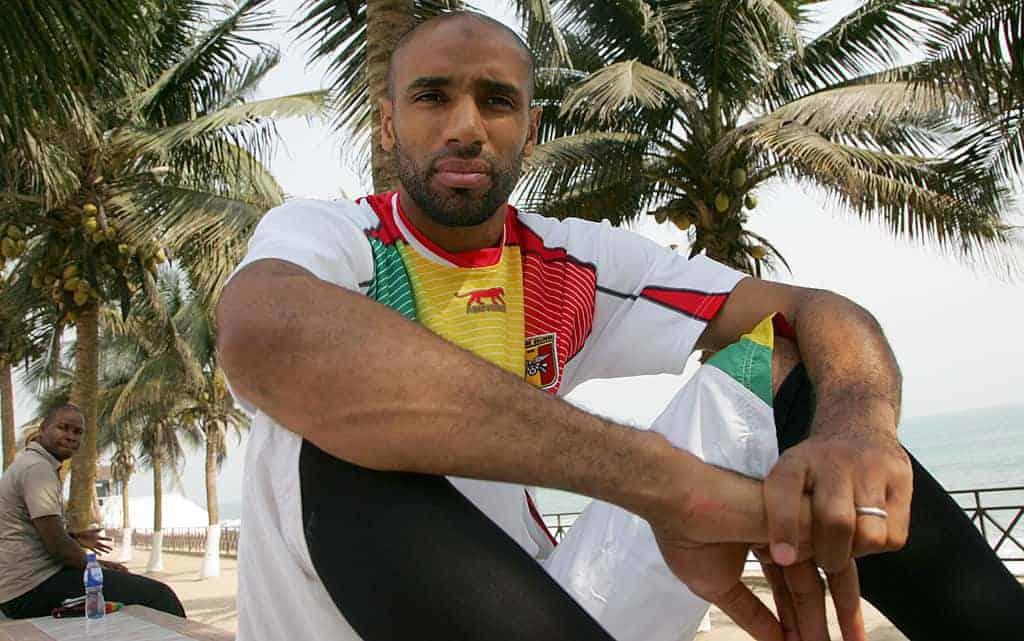 فريدريك عمر كانوتيه بقميص منتخب مالي (صور: Getty)