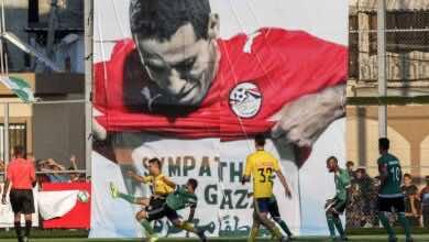 قميص تعاطفًا مع غزة الذي كشف عنه المصري أبو تريكة في مباراة مصر والسودان بدور مجموعات كأس أمم أفريقيا 2008 جعل منه أيقونة لدى الشعب الفلسطيني إلى الأبد (صور: Getty)