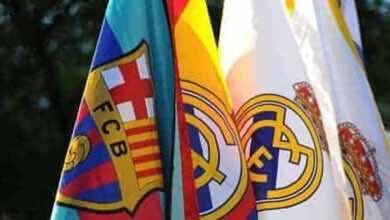 """تحديد موعد الكلاسيكو بين """"ريال مدريد وبرشلونة"""""""