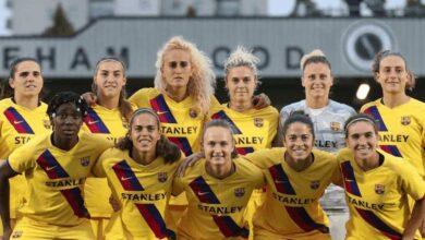 برشلونة يسحق ريال مدريد بتسعة أهداف في افتتاح دوري السيدات