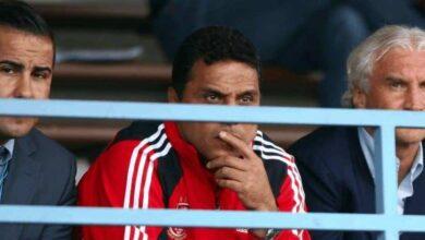 حسام البدري في مباراة ودية بين الأهلي وباير ليفركوزن (صور: Getty)