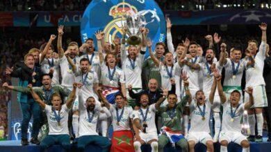 من تتويج ريال مدريد بدوري الأبطال (صور : AFP)