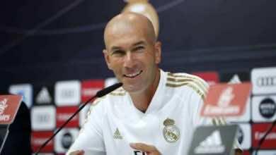 صورة زيدان يزف خبرا سارا لجماهير ريال مدريد