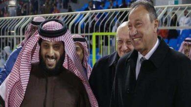 تركي آل الشيخ ومحمود الخطيب (صور: AhlyEgypt)