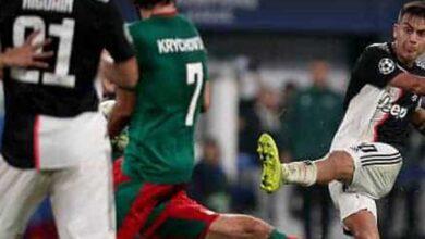 نتيجة مباراة يوفنتوس ولوكوموتيف موسكو فى دوري أبطال اوروبا 2019-2020