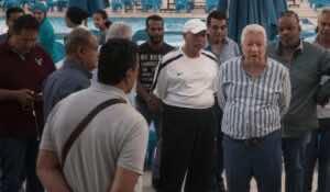 رئيس نادي الزمالك مرتضى منصور في مقر الزمالك بالجيزة (صور: Getty)