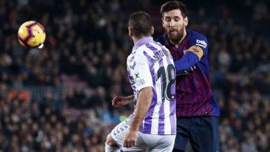 ليونيل ميسي في مباراة برشلونة وبلد الوليد (صور: Getty)