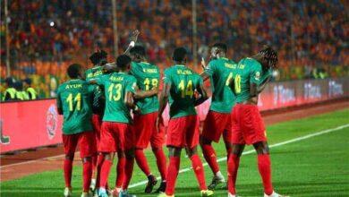فرحة منتخب الكاميرون بالفوز على مالي فى بطول افريقيا تحت 23 عام (صور:Google)