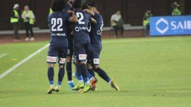 فرحة لاعبى انبي بالفوز على الزمالك فى الدوري المصري (صور:Google)