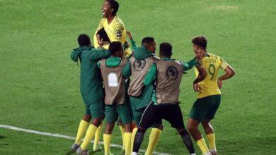 جنوب أفريقيا الأولمبي يتأهل الى أولمبياد طوكيو 2020 (صور:AFP)