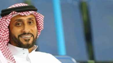 صورة سامي الجابر يثمن إنجاز الهلال ويبارك لجماهيره : 'مبروك للمدرج الفخم'