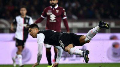 كريستيانو رونالدو في مباراة الديربي بين تورينو ويوفنتوس في الدوري الايطالي (صور: Getty)