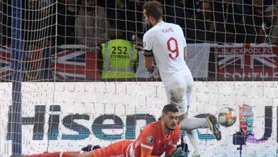 هاري كين يسجل هدفه ال12 في تصفيات يورو 2020 أمام كوسوفو ويتوج بلقب هداف التصفيات (صور: Getty)