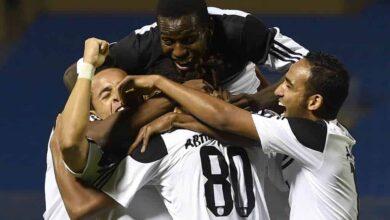 احتفال لاعبو نادي الشباب السعودي (صور: Getty)