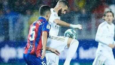 نتيجة مباراة ريال مدريد وإيبار فى الدوري الإسباني