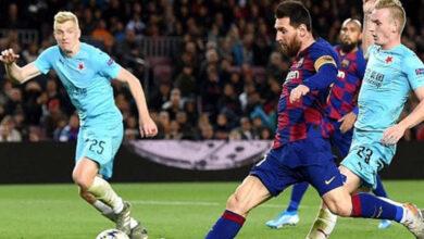 نتيجة مباراة برشلونة وسلافيا براغ فى دوري أبطال أوروبا 2019-2020