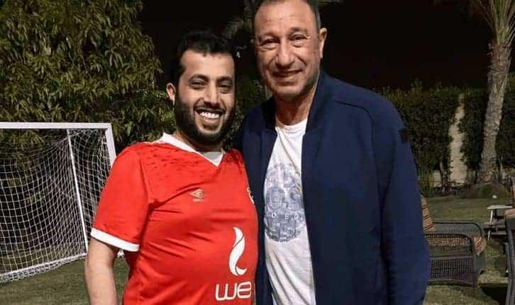 تركي آل الشيخ ومحمود الخطيب (صور: Facebook)