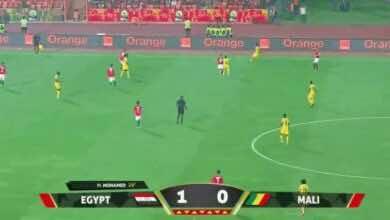 صورة أهداف مصر ومالي فى بطولة أفريقيا لأقل من 23 سنة