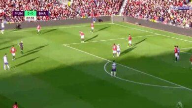بث مباشر مباراة مانشستر يونايتد ضد برايتون في الدوري الانجليزي على يوتيوب (صور: TV)