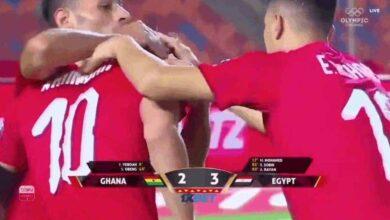 مصر تفوز على غانا بنتيجة 3-2 فى بطولة افريقيا لأقل من 23 عام (صور:Google)