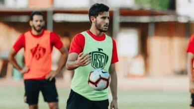 """صورة إصابة لاعب الأهلي """"حمدي فتحي"""" بفيروس كورونا"""
