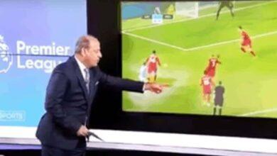 جمال الشريف يحلل أداء الحكم مايكل أوليفر في مباراة ليفربول ومانشستر سيتي (صور: beIN Sports)