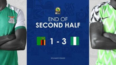 نيجيريا تهزم زامبيا ، أهداف المباراة (صور: CAF)