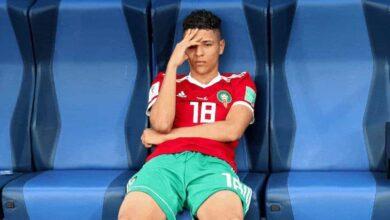 """صورة خليلوزيتش يُبرر استبعاد نجم شالكه """"أمين حارث"""" من منتخب المغرب"""