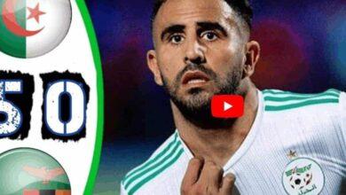 صورة أهداف مباراة الجزائر وزامبيا في تصفيات أمم أفريقيا 2021