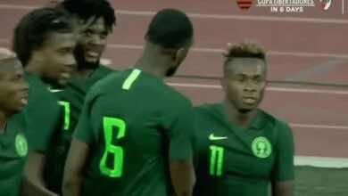 صورة نيجيريا تنفرد بصدارة مجموعتها في تصفيات أمم أفريقيا 2021 بفضل أوسيمين