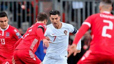 كريستيانو رونالدو يسجل هدفه 99 مع منتخب البرتغال امام لوكسمبورج في تصفيات يورو 2020 (صور: Getty)