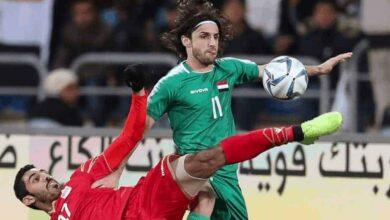 نجم منتخب العراق ونادي الاسماعيلي همام طارق (صور: Getty)