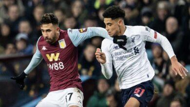 نتيجة مباراة أستون فيلا وليفربول فى الدوري الإنجليزي 2019-2020
