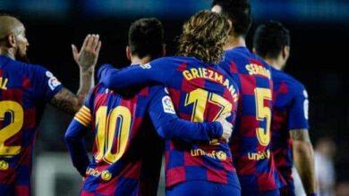 صورة برشلونة يخسر جهود أحد أبرز نجومه أمام الأتليتيكو