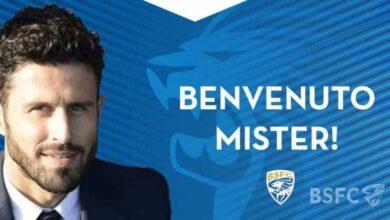 فابيو جروسو مدربًا جديدًا لنادي بريشيا الإيطالي (صور: Twitter)
