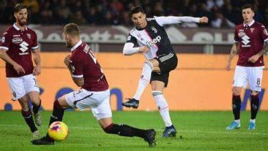 صورة نتيجة مباراة تورينو واليوفنتوس فى الدوري الإيطالي 2019-2020