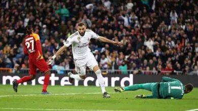 صورة نتيجة مباراة ريال مدريد وجلطة سراي فى دوري أبطال أوروبا 2019-2020