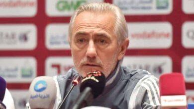 صورة فان مارفيك : المنتخب الإماراتي لم يقدم الأداء الجيد أمام العراق