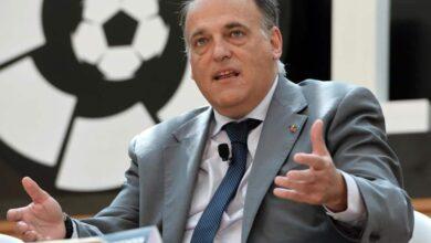 صورة تيباس يستقيل من رئاسة رابطة الدوري الإسباني.. للترشح مجدداً