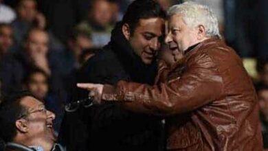 مرتضى منصور يتجاهل قرار الاتحاد المصري ويحضر مباراة الإنتاج والزمالك!