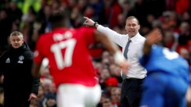 مدرب إيفرتون راض عن التعادل مع مانشستر يونايتد