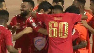 ظفار يحسم ديربي سلطنة عمان ويهزم النصر